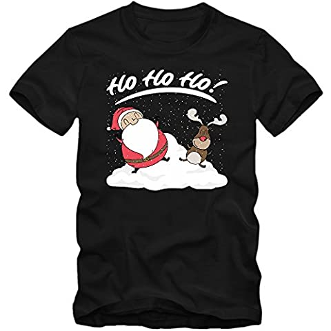 Santa Und Rudolph #2 T-Shirt | Rudi | Weihnachtsmann |