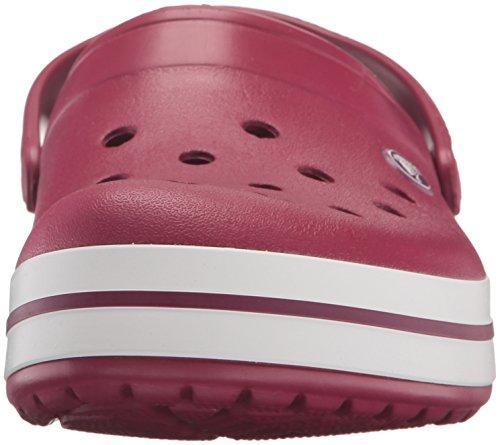 Crocs Crocband, Sabots Mixte Adulte Rose (Pomegranate/White)