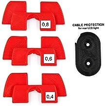 Amortiguador de vibración de Goma 3D, protección LED, Piezas de modificación para Xiaomi Mijia