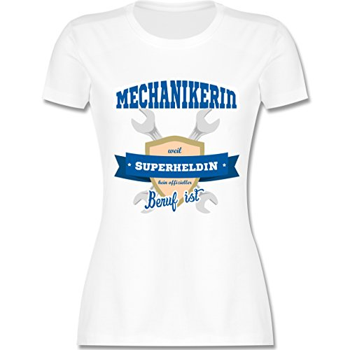 Shirtracer Handwerk - Mechanikerin - Weil Superheldin Kein Offizieller Beruf  ist - Damen T-Shirt
