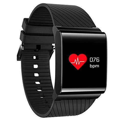 Mesigu Intelligenter Entgaser IP67 Wasserdicht Bluetooth Smartband mit Pulsoximeter Blutdruck-Armband Sport Schrittzähler Aktivitätstracker Fitness-Farbdisplay S