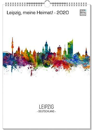 artboxONE Kalender 2020 Leipzig, Meine Heimat! Wandkalender A2 Städte