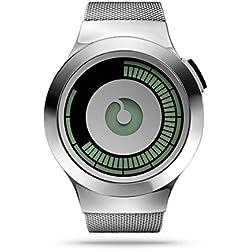 ZIIIRO Uhr - Saturn - Silber