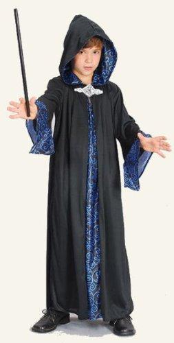 Merlin der Zauberer Kinder-Kostüm 134cms M