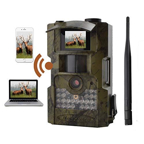 Loverseye Wildkamera 12MP 720P Jagdkamera Beutekameras IR LED's Sensoren 85pi / 26m de Détection Grand Angle Lentille mit Bewegungsaktivierung Imperméable