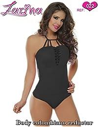 ZARINA® Body Colombiano Estampado Varios Colores - Body Con Faja 022