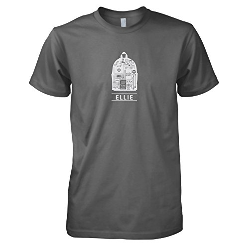 TEXLAB - Ellie: The Last - Herren T-Shirt Grau