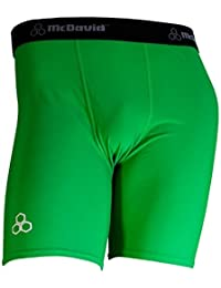 Mcdavid Classic 706 Men'S Mid-Length Compression Short Brazil Green Medium by McDavid
