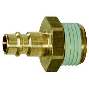 KS Tools 515.3490Raccord en laiton m. auße ngew. 10x 16mm pas cher