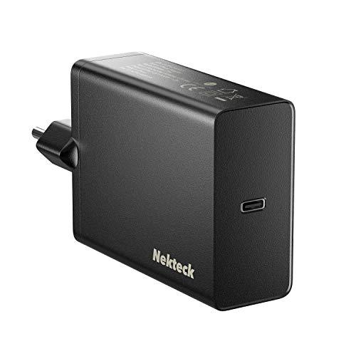 Nekteck USB C Caricabatterie da Muro 60W Power Delivery per MacBook PRO, 2018 MacBook Air iPad PRO, Pixel 3, Samshung S10/S9/S8 con Cavo 6ft