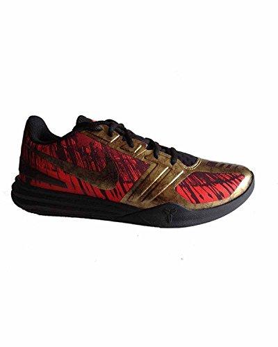 Kb Mentalità Blk / MTLC Agd Cn / chillng Rd / tm R scarpa da basket 10 Us Rosso (rosso)