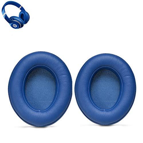 Ersatz Ohrpolster Ear Pad Kissen für Beats By Dr. Dre Studio 2.0 Wired, Studio 2.0 Wireless Over-Ear Kopfhörer (Blau)