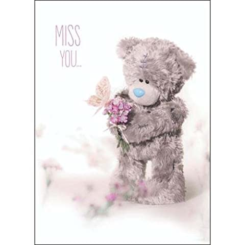 Miss You Photo Finish Me to You Bear Card