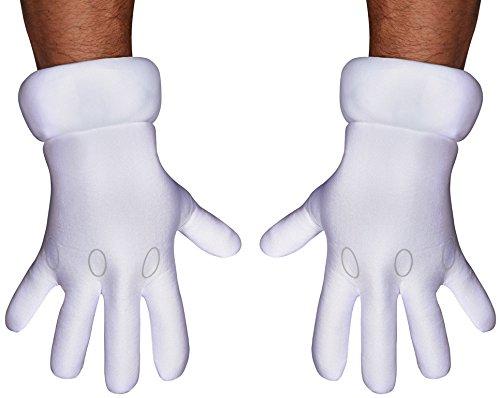 Jakks Pacific Super Mario Bros Handschuhe für Erwachsene