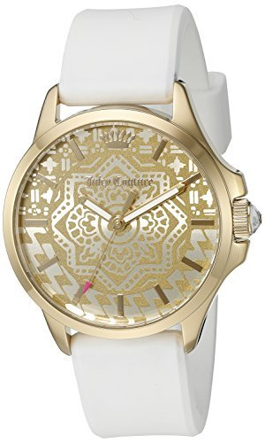 Juicy Couture Donna 1901390Jetsetter Display analogico al quarzo giapponese bianco da Juicy Couture