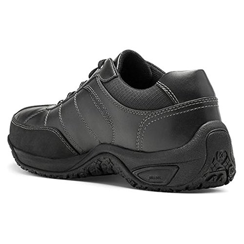Dunham Men's Lexington Steel Black Sneaker 13 D (M) Black