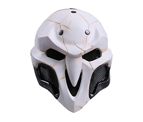 Maske für Erwachsene Tod Karneval Saw Fasching Maske Kostüme Geist ()
