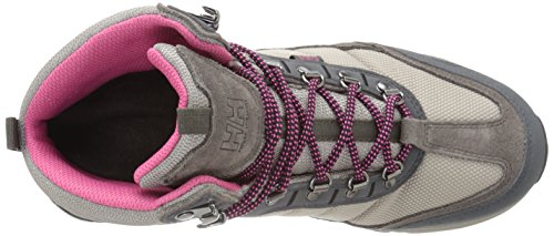 Helly Hansen - W Rapide Mid Mesh HT, Scarpe sportive Donna Nero (850 Moon Rock/Bungee Cord)