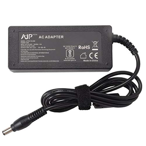 AJP INDIA Compatible with FUJITSU LIFEBOOK A555 Laptop Notebook Power Adapter 65W Battery Charger PSU Without Power Cord Sold by AJ Parts India