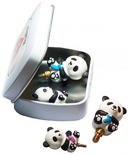 HiyaHiya–Puntas Aguja Idea Lata Panda Cable