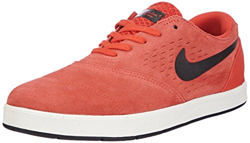NIKE  Eric Koston 2, Baskets Pour Homme Rouge (LT Crimson/Crystal Mint/Black)