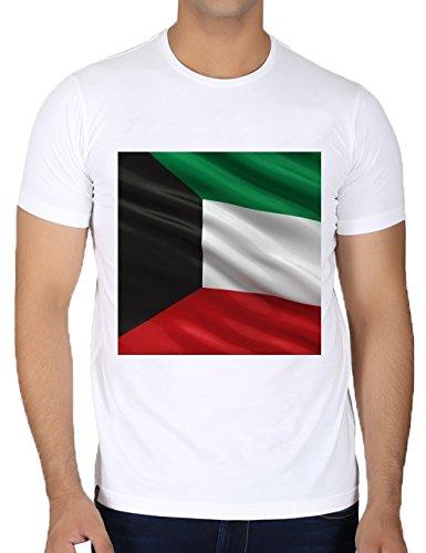 crew-neck-white-t-shirt-for-men-large-size-flag-of-kuwait-by-carsten-reisinger