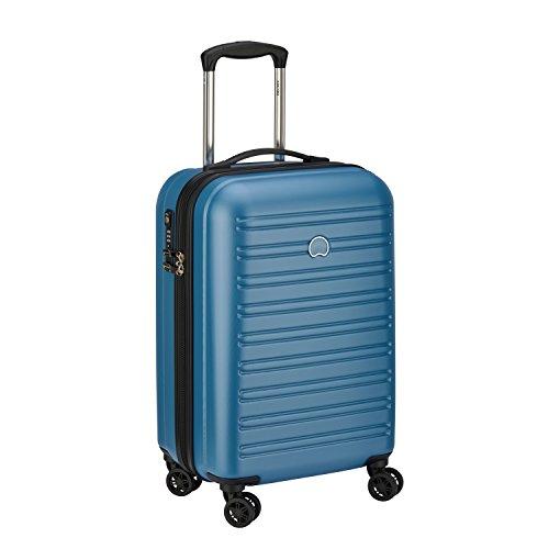 DELSEY PARIS SEGUR Valise, 55 cm, 43 litres, Bleu Canard