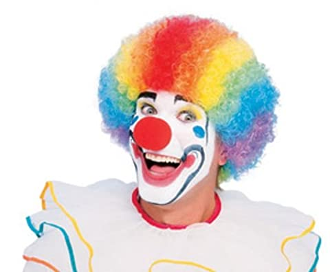 Rubie's Official Clown Wig-Multi, Adult Costume - One