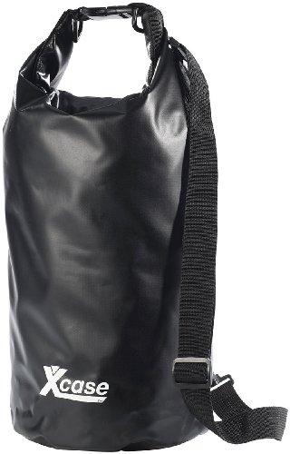 Xcase wasserdichte Taschen: Wasserdichter Packsack 16 Liter, schwarz (Wasserfeste Tasche)
