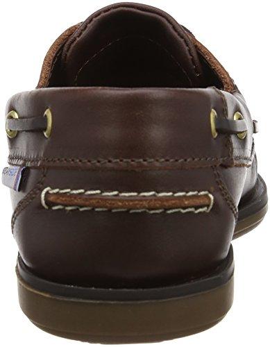 Quayside Clipper, Chaussures bateau homme Marron (Marron-TR-F3-21)