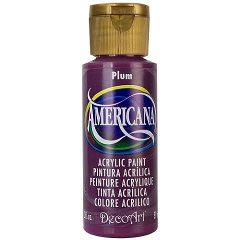 DecoArt Americana Acrylic Multi-Purpose Paint, Plum