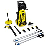 Wolf Electric Pressure Washer with Telesopic Lance 2400psi Water Jet High Power Quick