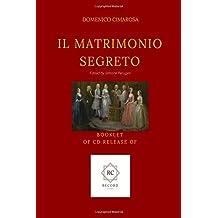 Il Matrimonio Segreto: Booklet of CD release