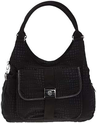 Kipling BAGSATIONAL KM Shoulder Bag Women's Black Schwarz (Black KM) Size: 39x35x20 cm (B x H x T)