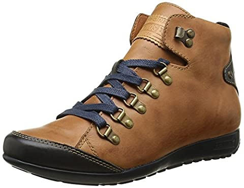 Pikolinos Lisboa W67 I16, Sneakers Hautes Femmes, Marron (Brandy), 39 EU