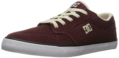 DC Mens Argosy Vulc Shoes, Black/Grey, 10D Bordeaux