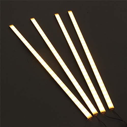4 stücke 50 cm 5730smd 30 led unter kabinett licht kit 1000lm 10 watt led streifenlicht für unter küche schrank lampe (Kabinett-licht-kit)