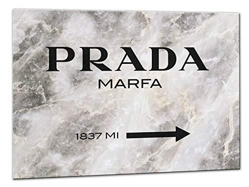 Kuader Prada Marfa Gossip Girl Marmor Prada Bild Druck Auf Leinwand Für Den Innenausbau Pro6, 50x70 cm