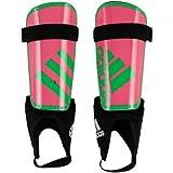 adidas Kinder Schienbeinschoner Youth Sock Guard, Schwaz/Rosa/Grün, M, AH7765