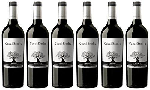 Casa de la Ermita Vino Tinto Crianza - 750 ml [Pack de 6]
