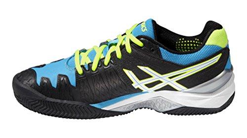 Schwarz Gel Herren Blau Clay Resolution Asics Tennisschuhe 6 fU4Tn8nAx
