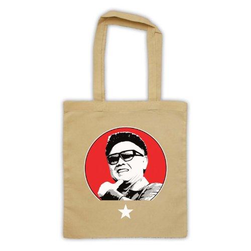Kim Jong Il Retro Tote Bag natur
