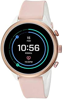 Fossil Womens Smartwatch with Silicone Strap FTW6022 (B07HCDYN9N) | Amazon price tracker / tracking, Amazon price history charts, Amazon price watches, Amazon price drop alerts