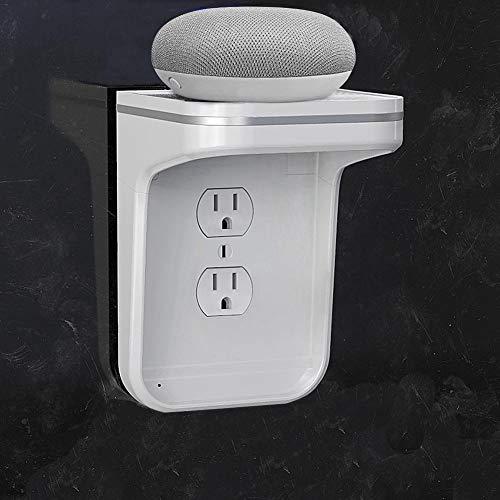 Steckdosenhalter, Wandhalterung, Nachtlichthalterung Für Badezimmer, Wandhalterung Nach Amerikanischem Standard, Feuerfester ABS-Materialhalter, Einfach Zu Installieren