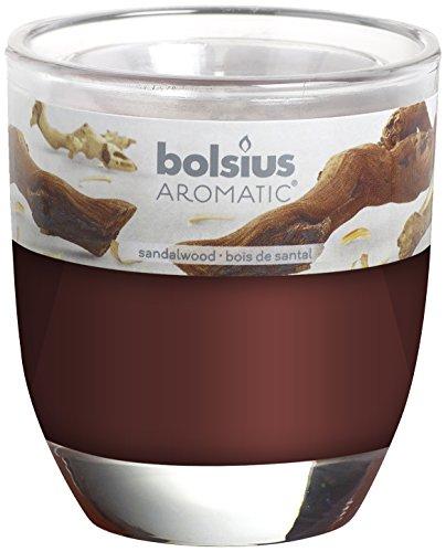 Bicchiere Profumato Sandalo Bolsius 80/70 mm iOJlTa