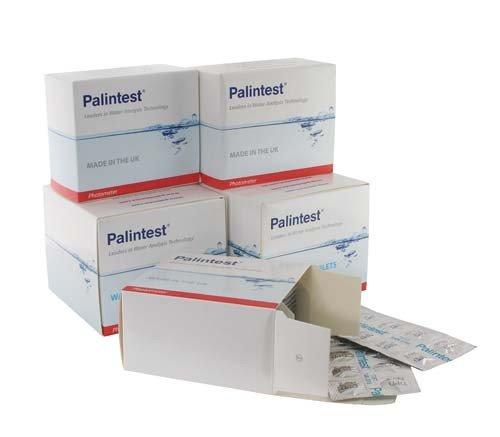 Aqua-tabletten (New Palintest photometer-cyanuric Säure Aqua Testen Reagenz Tabletten 250Stück)
