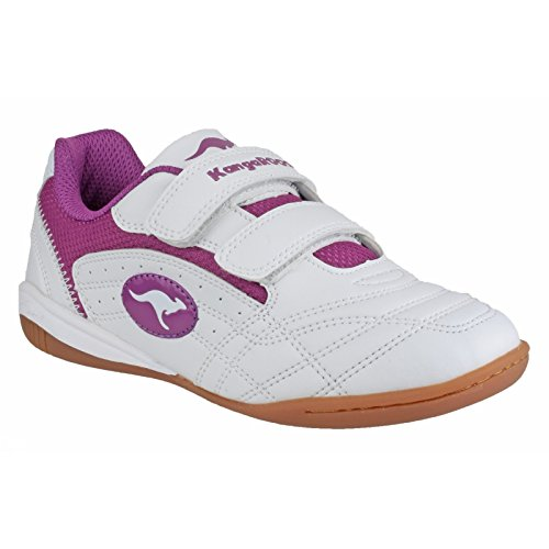 KangaROOSBackyard - Sneaker Bambina Bianco/Fucsia