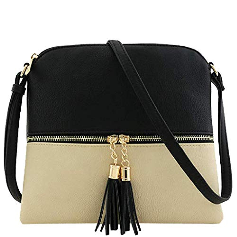 b7a4de615501 DAY.LIN Femmes Liquidation Cuir Tassel Bandoulière Sauvage Portable ...