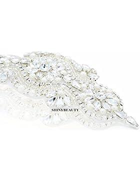 Aplique de diamantes de imitació