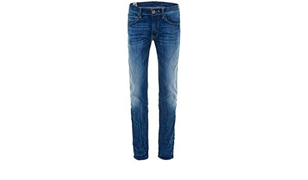HTC Hollywood Trading Company Herren So Cal 0678 Jeans Blue
